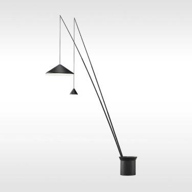 North 5605 vloerlamp - wit