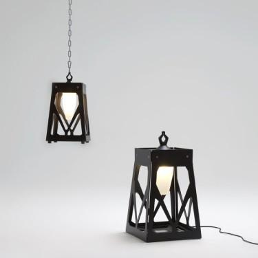 Axis Charles S tafel-hang lamp donker brons- SHOWROOMMODEL