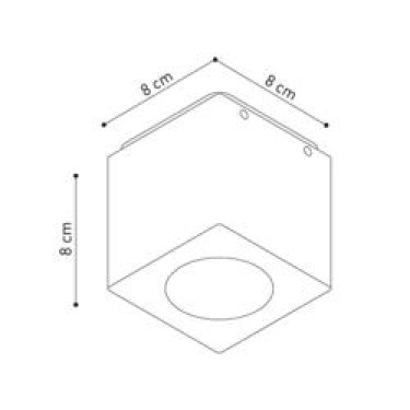 Cube XL plafondlamp