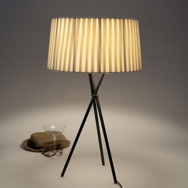Tripode tafellamp G6