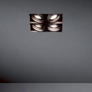 Mini Multiple Trimless 4sqx MR16