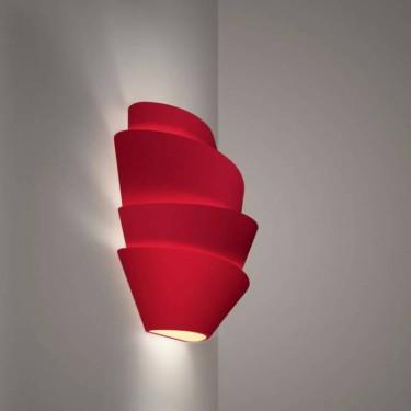 Le soleil wandlamp detail