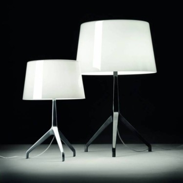 Lumiere XXS dimbare tafellamp - zwart chroom basis
