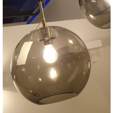 Belid Gloria hanglamp smokey glass - SHOWROOMMODEL