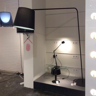 Excéntrica vloerlamp - SHOWROOMMODEL