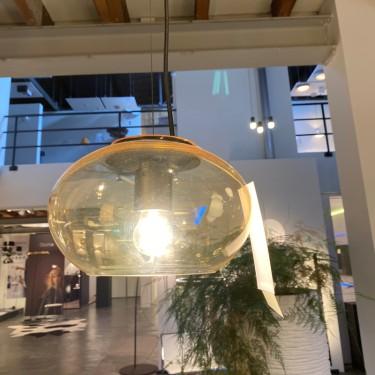 Deltalight hanglamp Mello glas Amber ø230-SHOWROOMMODEL