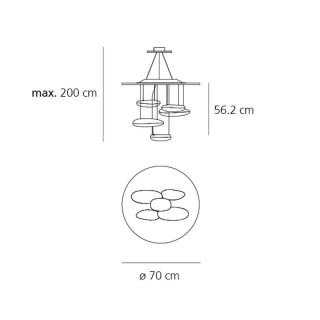 Mercury mini hanglamp