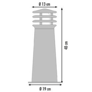 Rusty Vloerlamp 40
