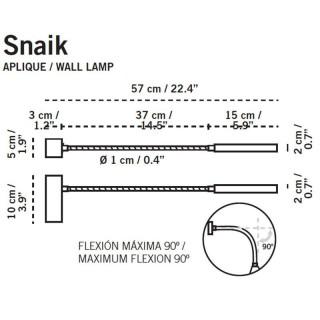 Snaik Wandlamp