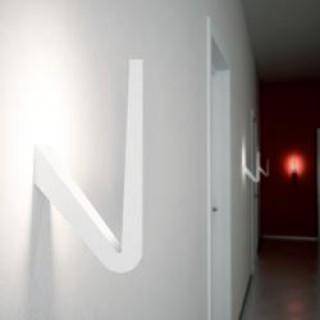 Tick LED wandlamp/plafondlamp