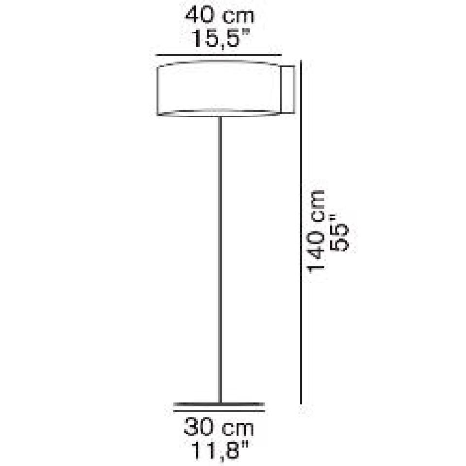 Switch vloerlamp