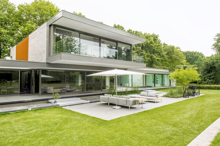 Verlichting nieuwbouw villa