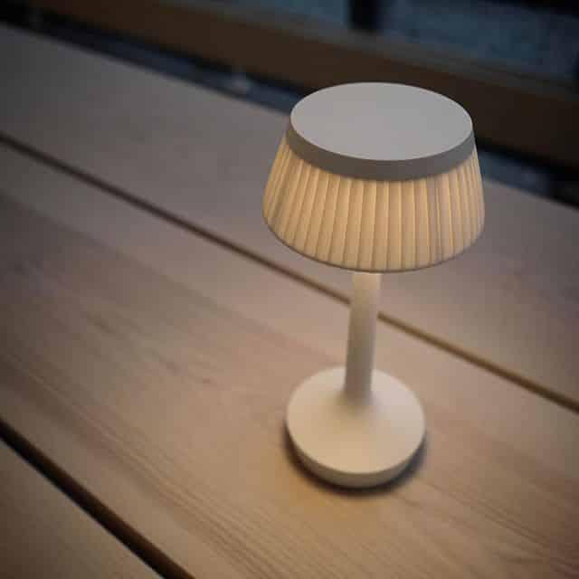Bonjour unplugged Tafellamp op accu