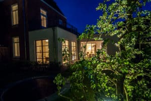 Tuinverlichting in het Ginneke Breda door HOOGSPOOR