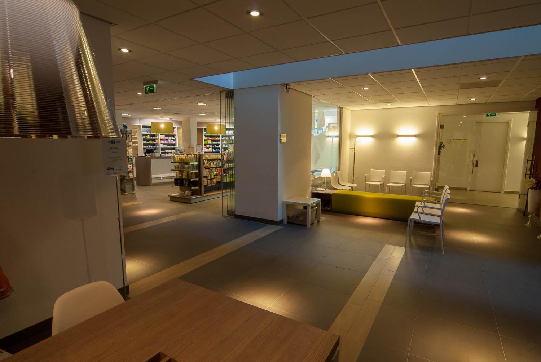 Hoogspoor licht project medisch centrum