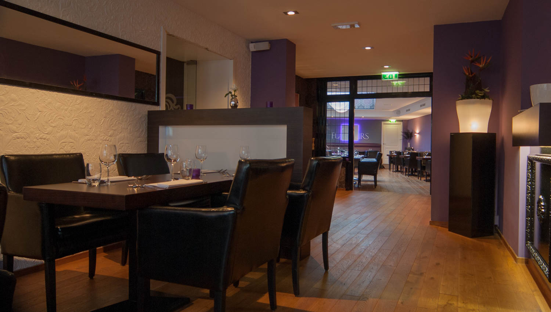 Hoogspoor licht project restaurant