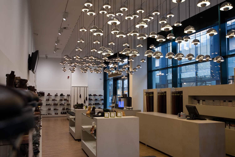 HOOGSPOOR schoenenwinkel Floris van Bommel licht project