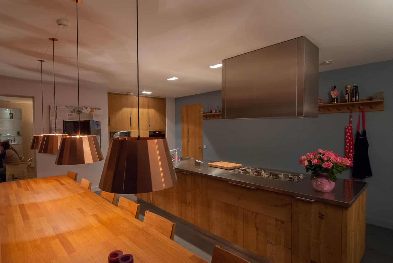 Hoogspoor licht project woonhuis Riel-14