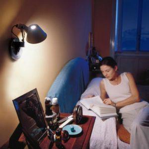 Tolomeo wandlamp als leeslamp