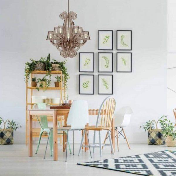 lamp hangend woonkamer