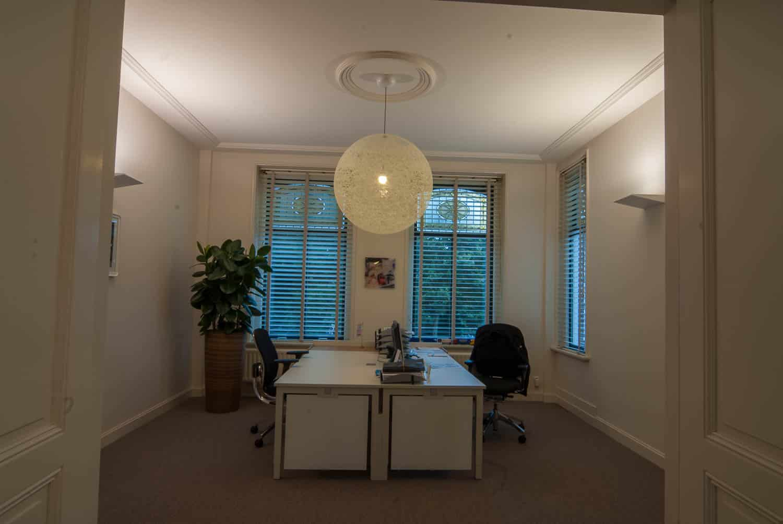 licht project HOOGSPOOR Kantoor Tilburg