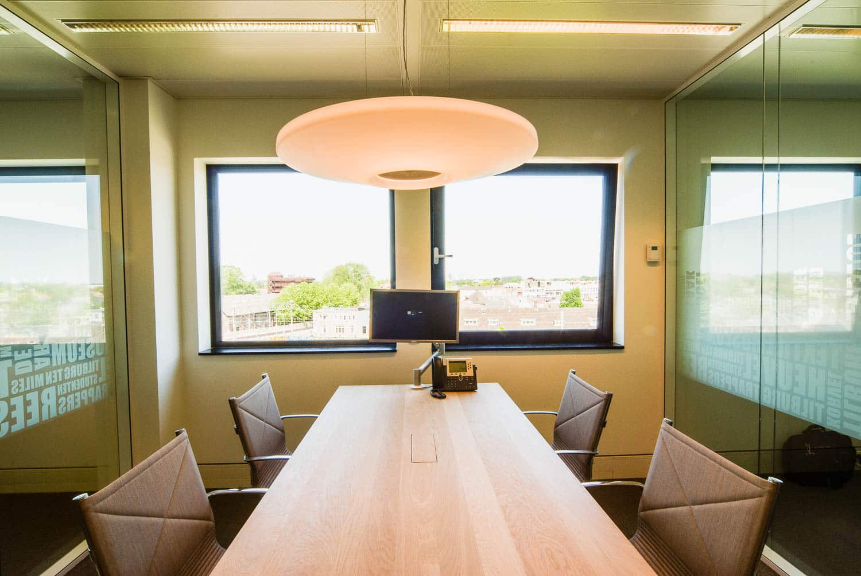 licht project HOOGSPOOR Rabobank Tilburg-