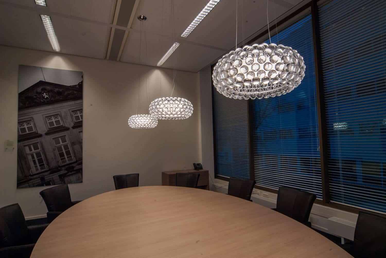 Kantoor verlichting voor BDO Den Bosch elke ruimte zijn eigen sfeer