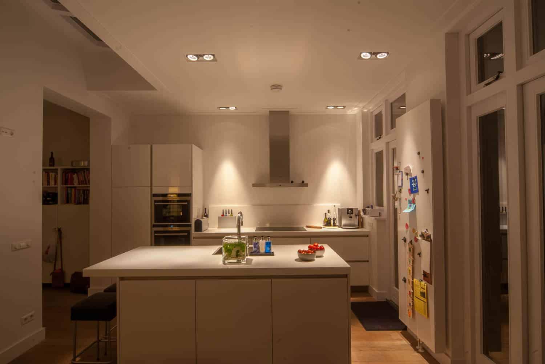 licht project HOOGSPOOR keuken