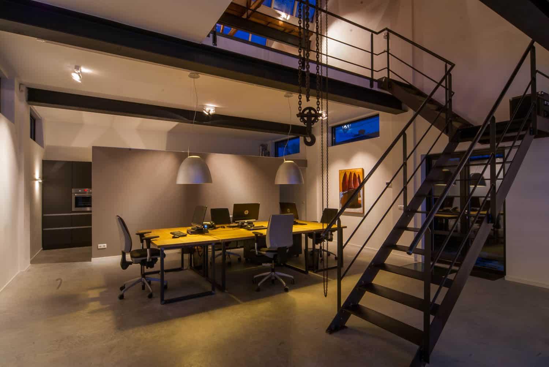 licht project HOOGSPOOR makelaar kantoor TILBURG