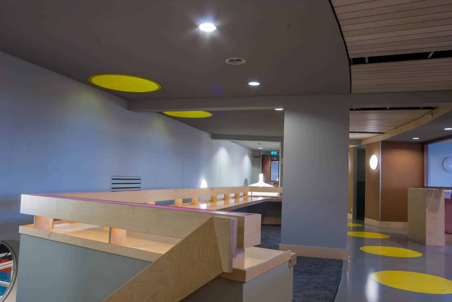 licht project HOOGSPOOR school Vlissingen
