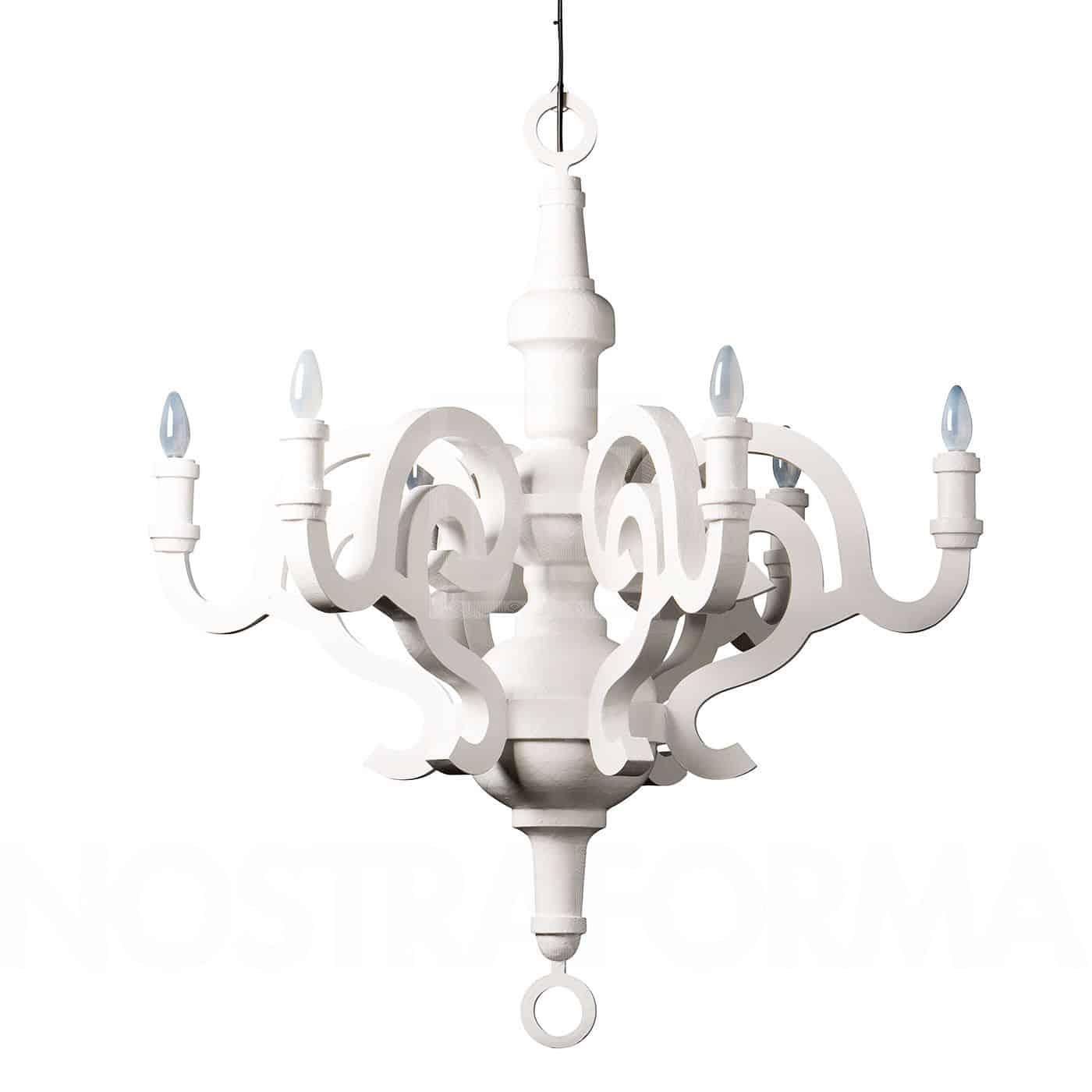 moooi-paper chandelier-hoogspoor-woonhuis breda