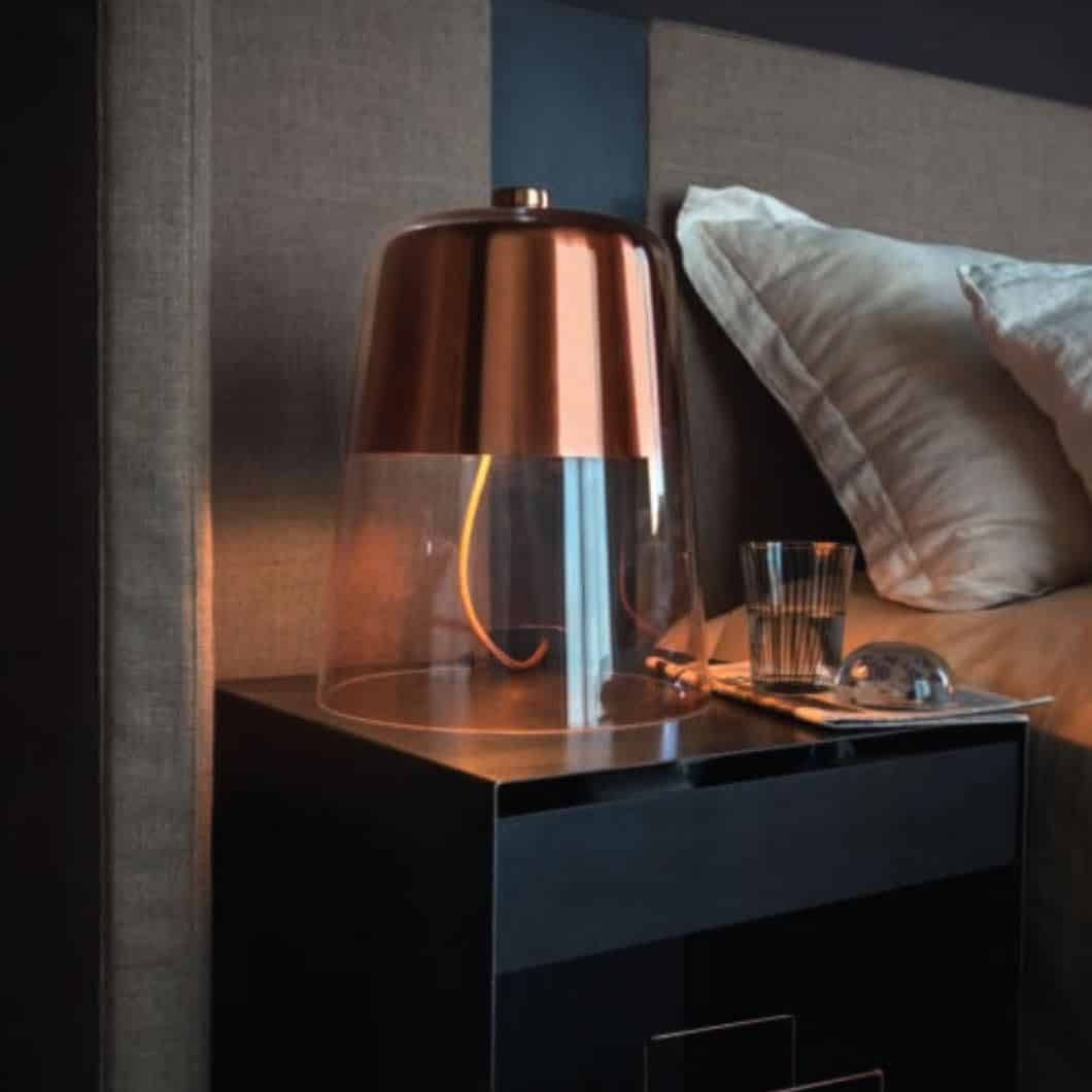 semplice tafellamp hoogspoor