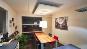 plafondpaneel voor verleggen lichtpunt