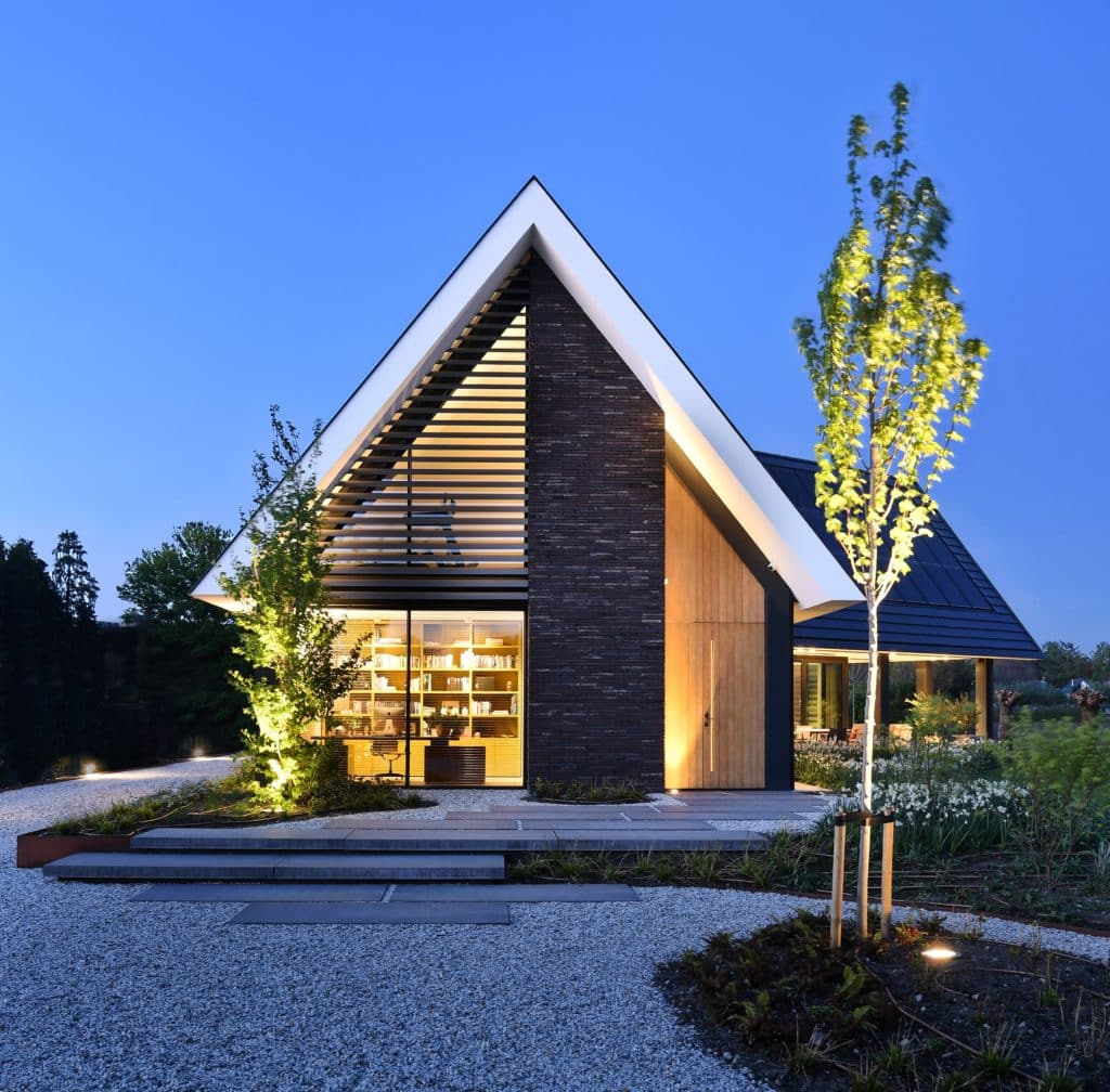 lichtplan schuurwoning met design verlichting