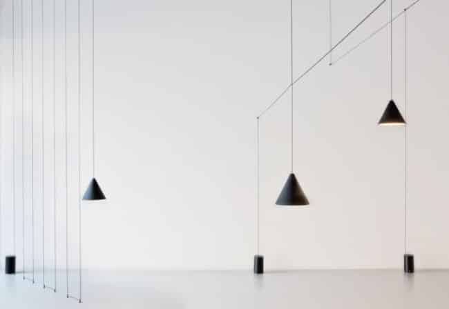 String light sfeer foto driehoek vorm